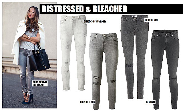 Grey Denim - The Trend & The Best Jeans To Buy | The Jeans Blog