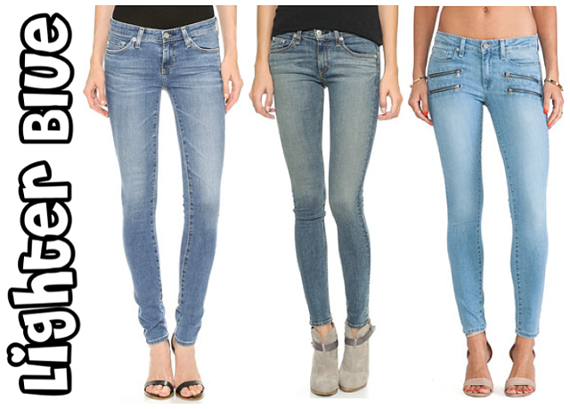 24 Must Have Classic Skinny Jeans From Dark To Light | The Jeans Blog