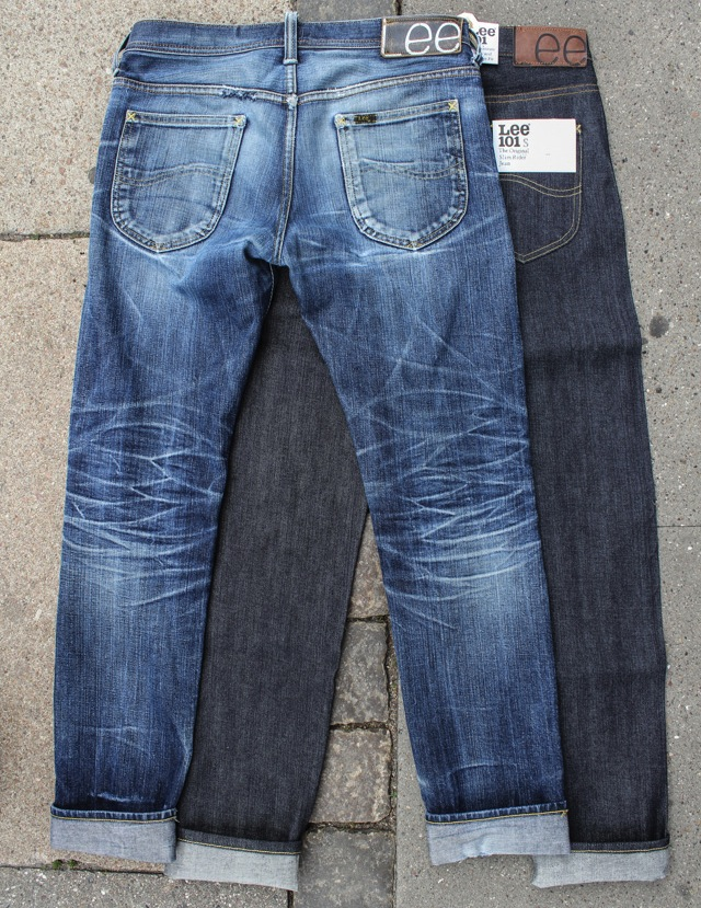 Mens Raw Denim Jeans