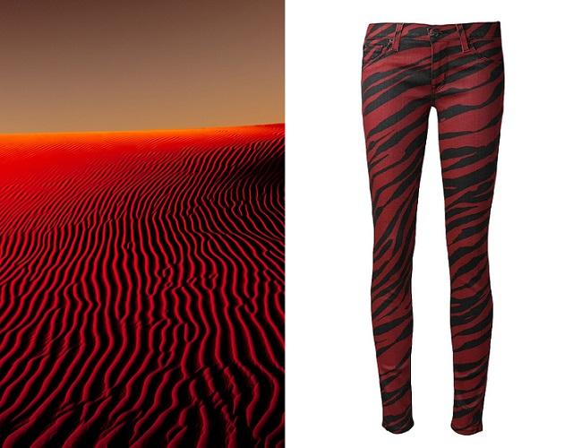 Hudson Krista Red Zebra