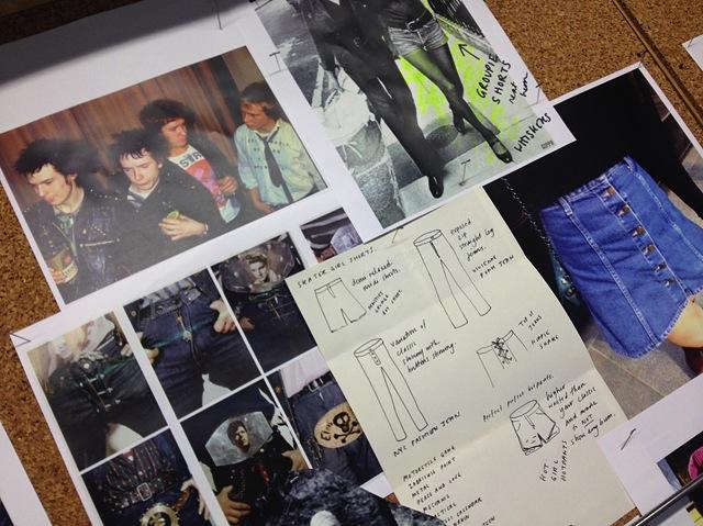 alexa-chung-ag-jeans-collaboration-design-board