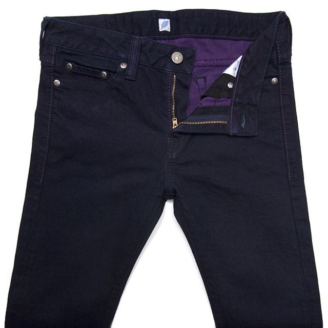 pure-blue-japan-raw-jeans-purple