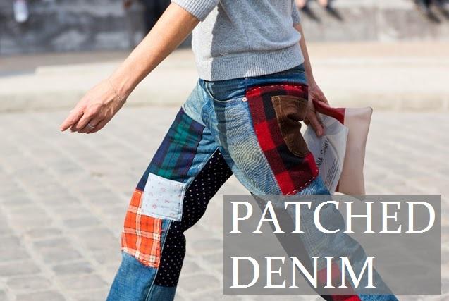 Patched Denim