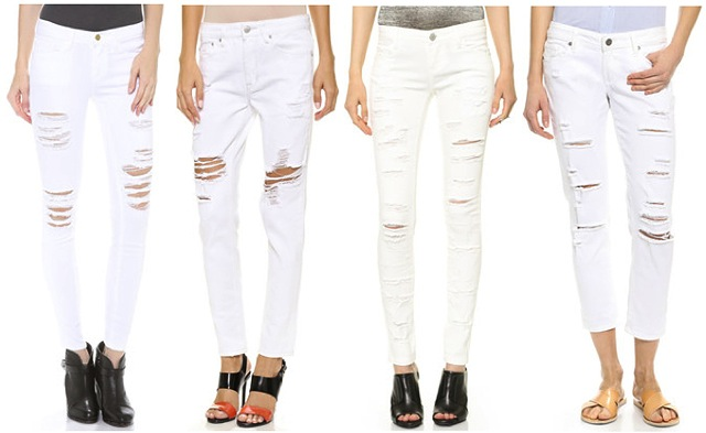 distressed-white-jeans