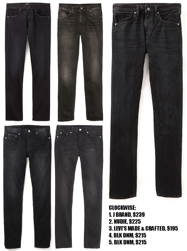 5 Faded Black Jeans To Try For Men For Fall | The Jeans Blog