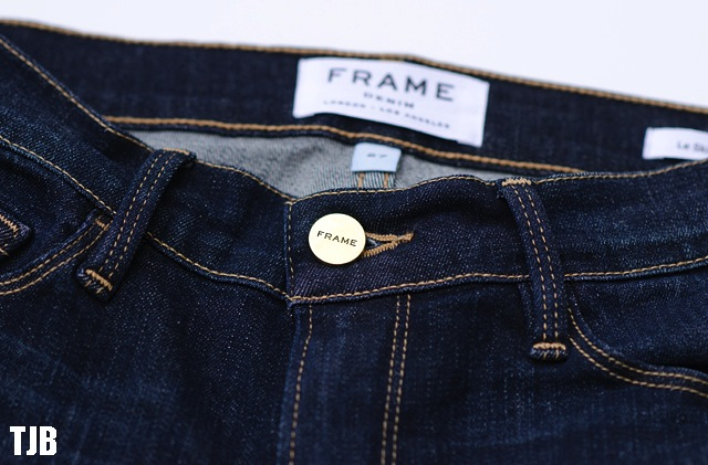 Frame Denim Le Skinny de Jeanne in Queensway Review | The Jeans Blog