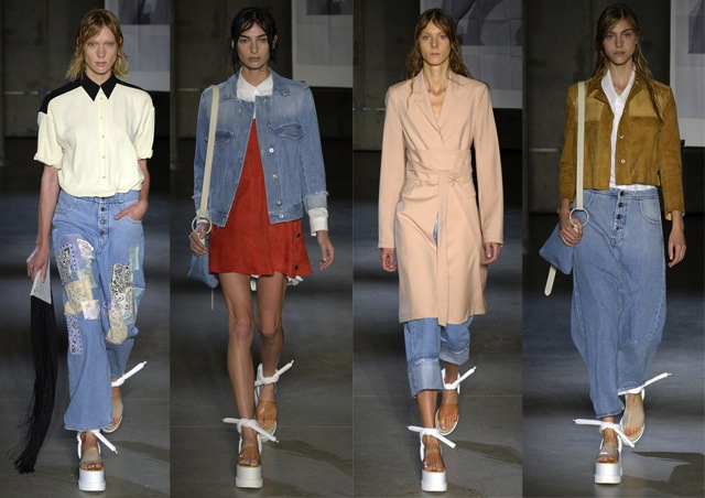 The ss15 denim trends from new york fashion week the - Immense maison vacances new york ss mm design ...