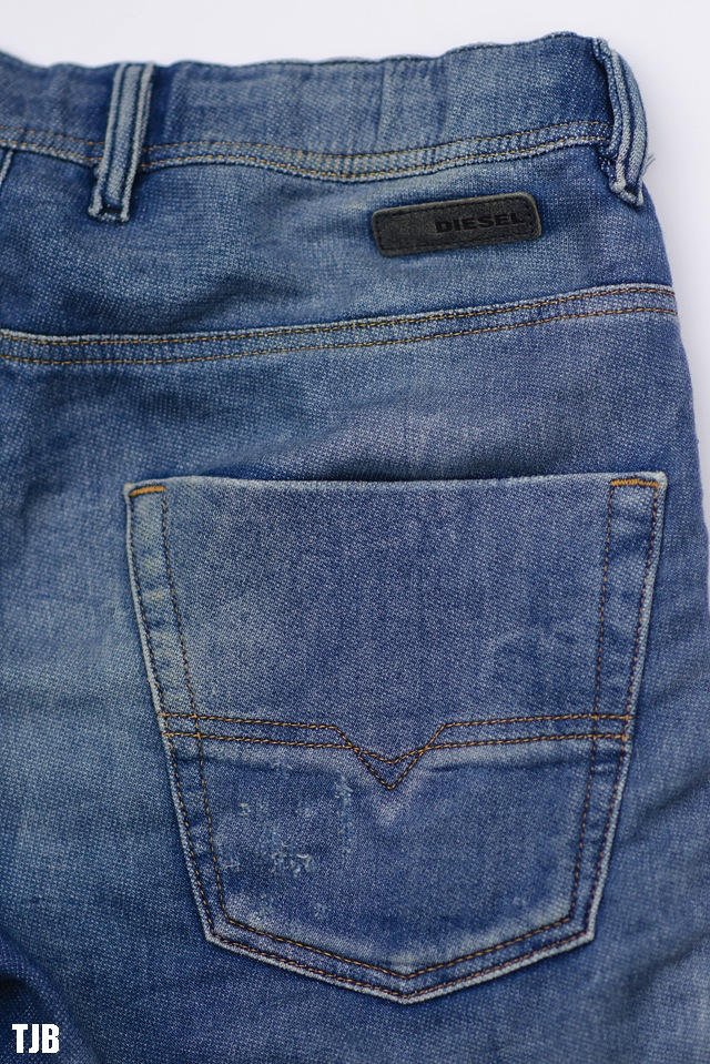 diesel krooley jogg jeans 800b denim review the jeans blog