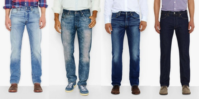 Shop The New Classic Levi's 501 Jeans | The Jeans Blog