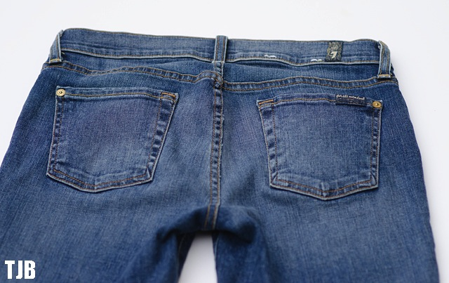 Denim Review: 7 For All Mankind The Ankle Skinny Raw Hem Jeans in ...
