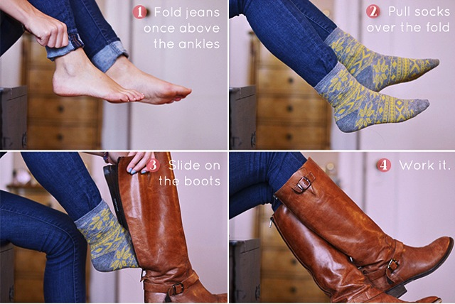 How To Tuck Your Jeans Into Boots The Jeans Blog