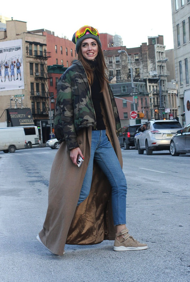 Denim Street Style From New York Fashion Week The Jeans Blog