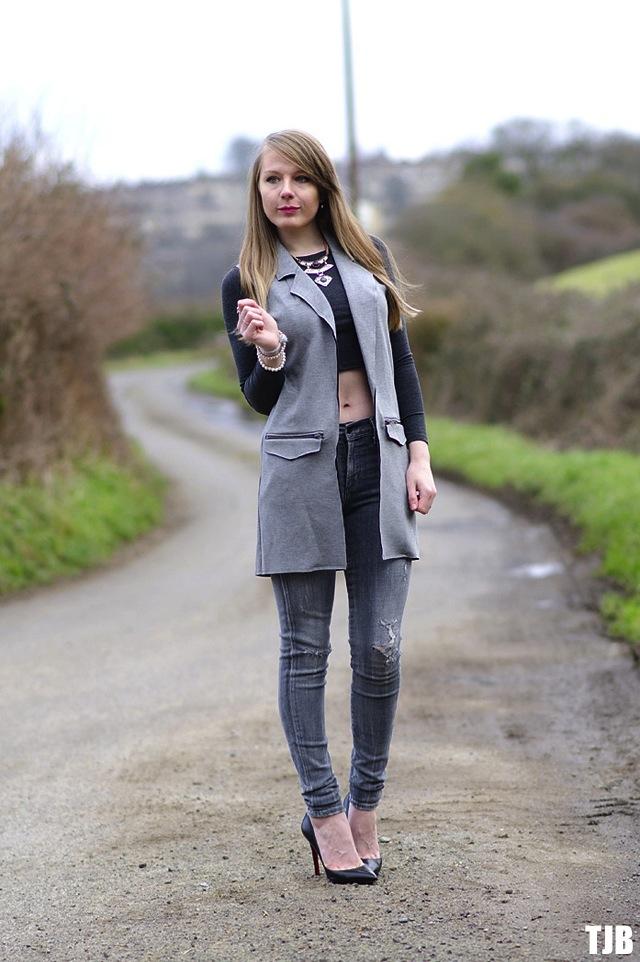 topshop-grey-longline-waistcoat-ponte
