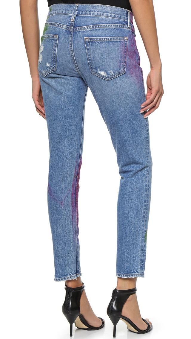 Koral Relaxed Boyfriend Jeans in Artisan Paint 2