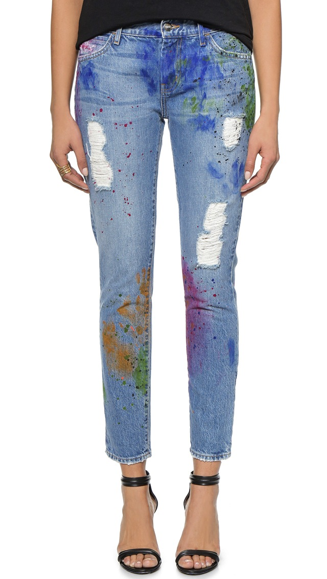 Koral Relaxed Boyfriend Jeans in Artisan Paint 3
