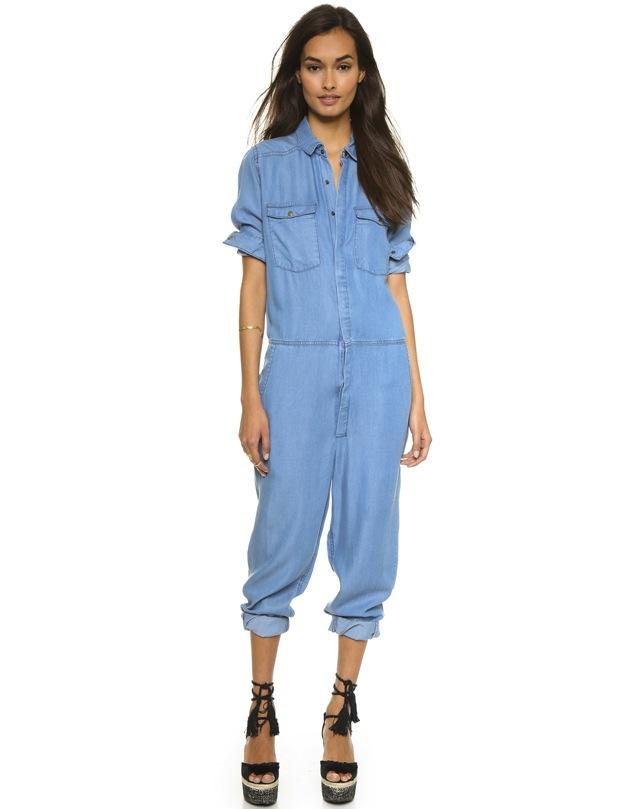 10 Hot Denim Jumpsuits For Summer   The Jeans Blog
