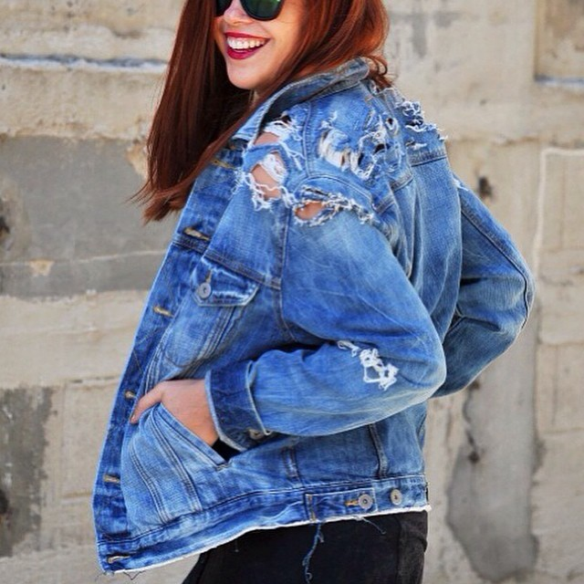 Denim Amp Jeans Inspiration From Instagram The Jeans Blog