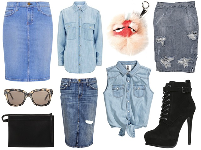 kylie-jenner-denim-skirt-shirt-outfit-get-the-look