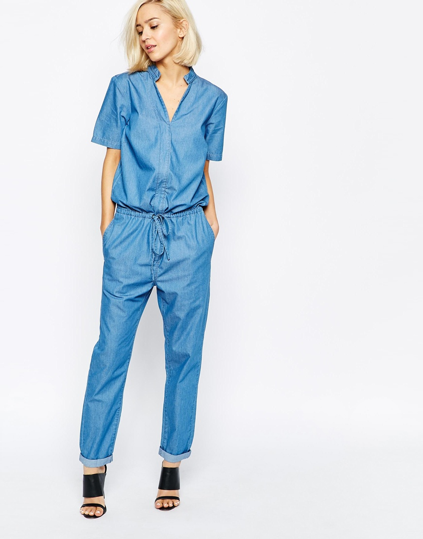 Womens-Jumpsuits-Rompers. Ramp up your style with ultra chic women's jumpsuits and rompers. Whether you're dressing for a casual day or a sophisticated night on the town, you're sure to find a style that suits any occasion. From short sleeve V-neck jumpers and strapless rompers to cargo pocket jumpsuits and denim rompers, you'll.