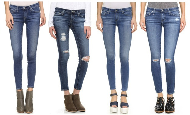 Ag Jeans Fit Guide Womens Fitness And Workout