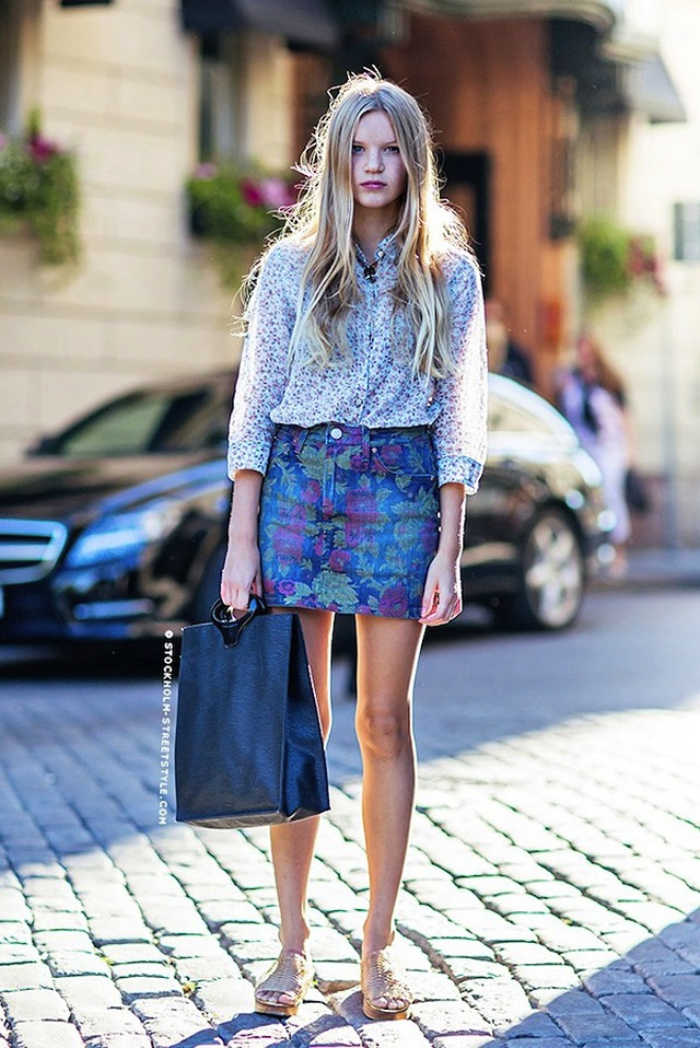 Denim Street Style From Around The Globe | The Jeans Blog