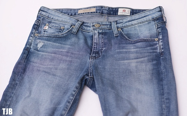 AG The Stilt Crop Jeans in 18 Years Ripped Review