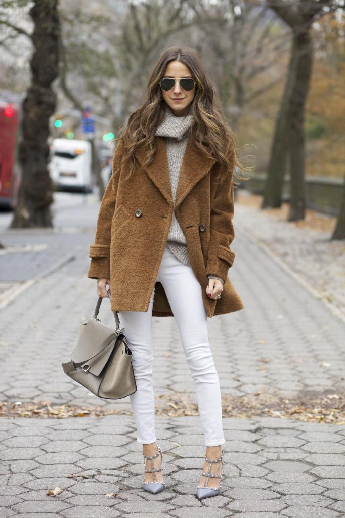 How To Wear White Jeans in Fall & Winter | The Jeans Blog