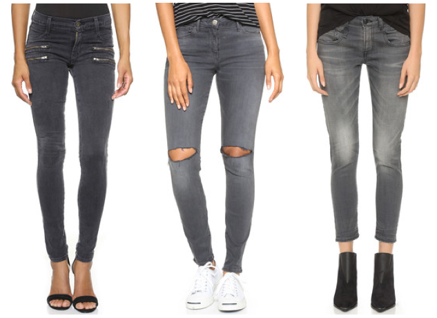 12 Of The Best Grey Jeans For Women
