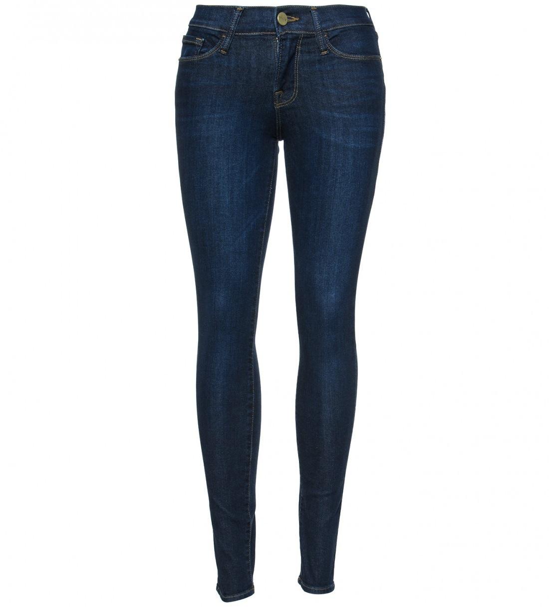 frame denim le skinny jean in marshall