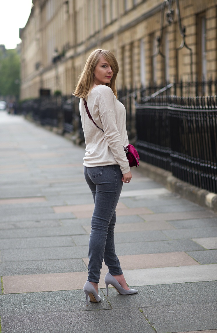 J brand mid rise skinny jeans review