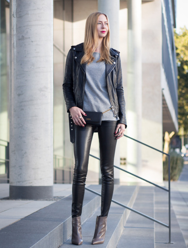 5 Pocket Leather Pants