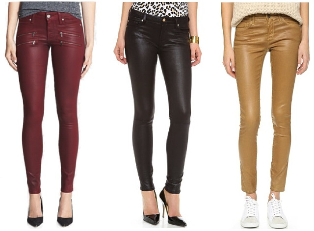 SHOPBOP - Coated Jeans FASTEST FREE SHIPPING WORLDWIDE on Coated Jeans & FREE EASY RETURNS.