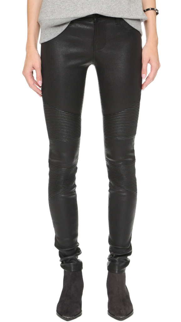 J Brand Moto Leather Pants