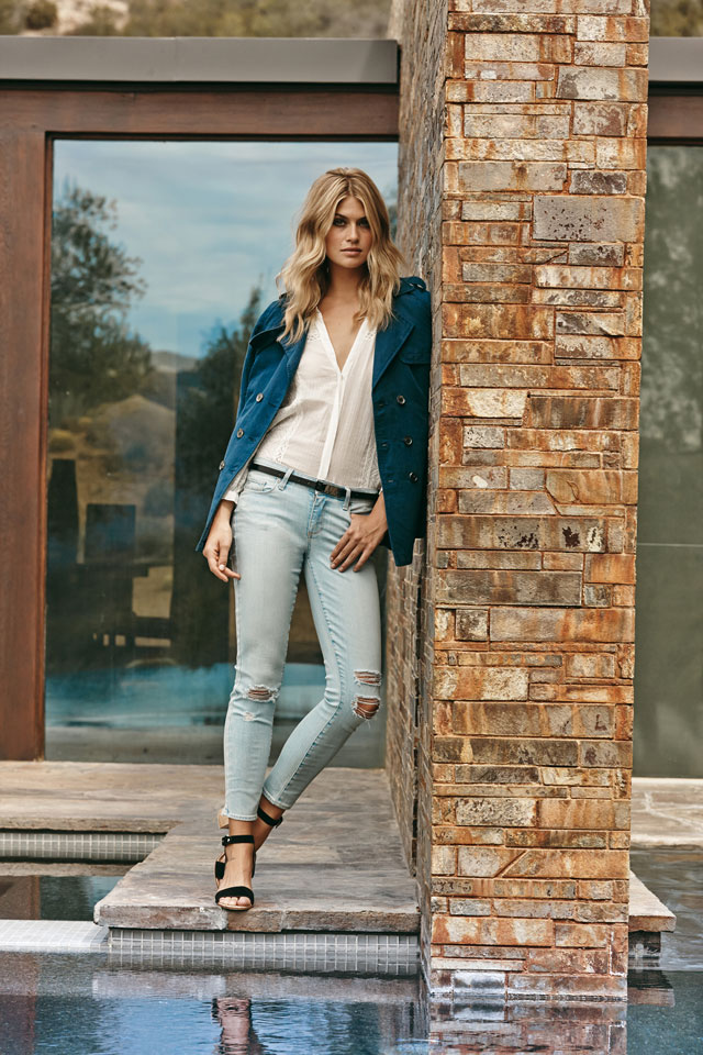 Destructed Jeans For Women