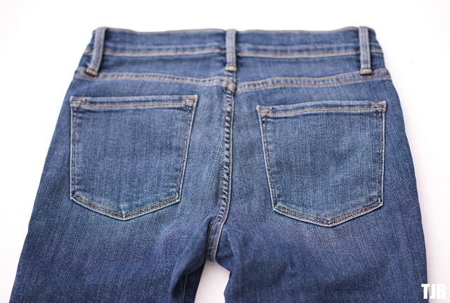 FRAME Denim Le Skinny de Jeanne in Huntley Review 2