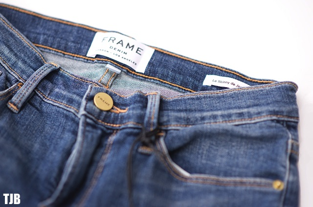 FRAME Denim Le Skinny de Jeanne in Huntley Review 5