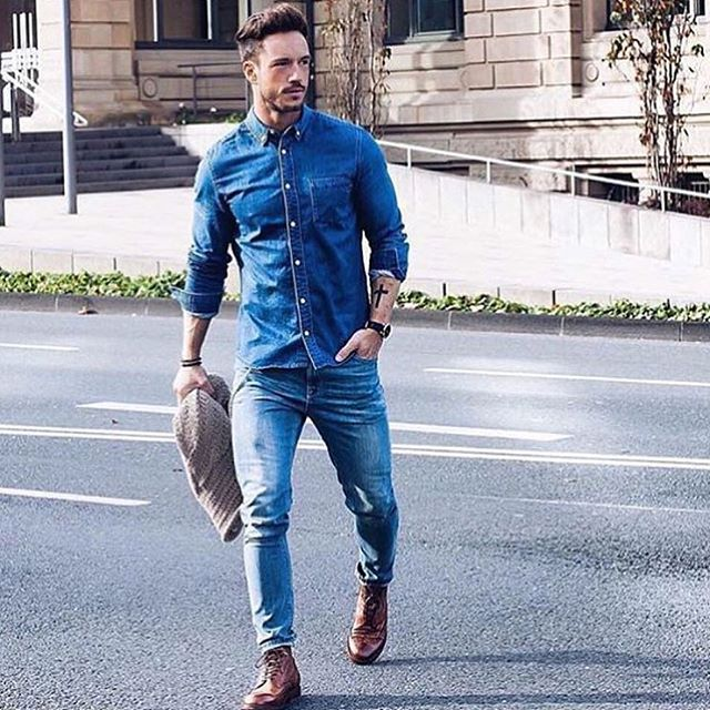 Always pick the right style for your body shape, and as sad as it may be, this means it's best for heavier men to avoid skinny jeans. Avoid wider legs if you're shorter, as this will only accentuate the stockiness of .