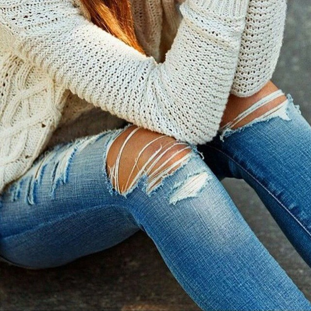 Denim Fashion Inspiration From Instagram | The Jeans Blog
