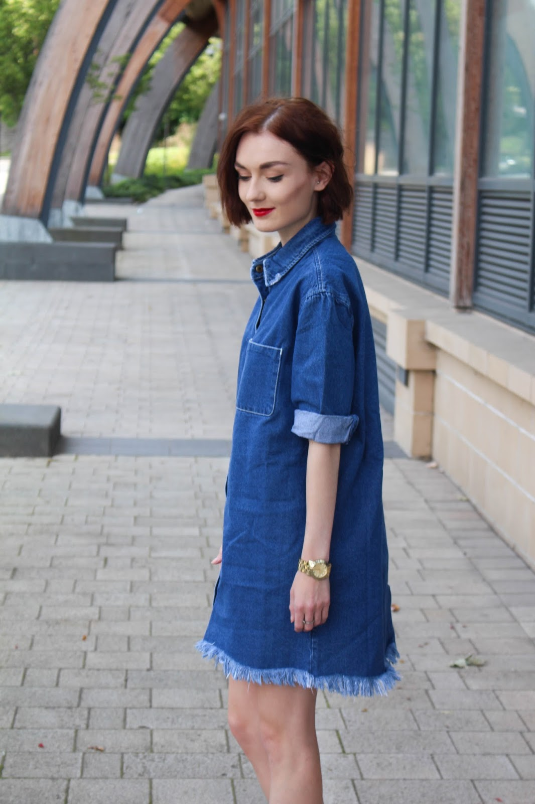 exceptional outfit denim dress 11