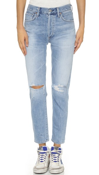 Citizens of Humanity Liya High Rise Jeans Torn