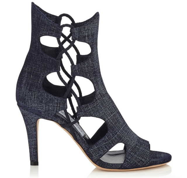 Jimmy Choo SS16 Denim Shoes & Bags