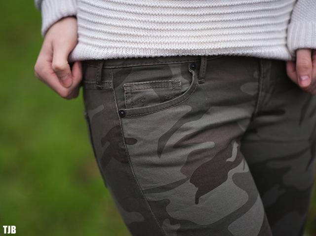 True Religion Casey Skinny Jeans in Camo Review 2