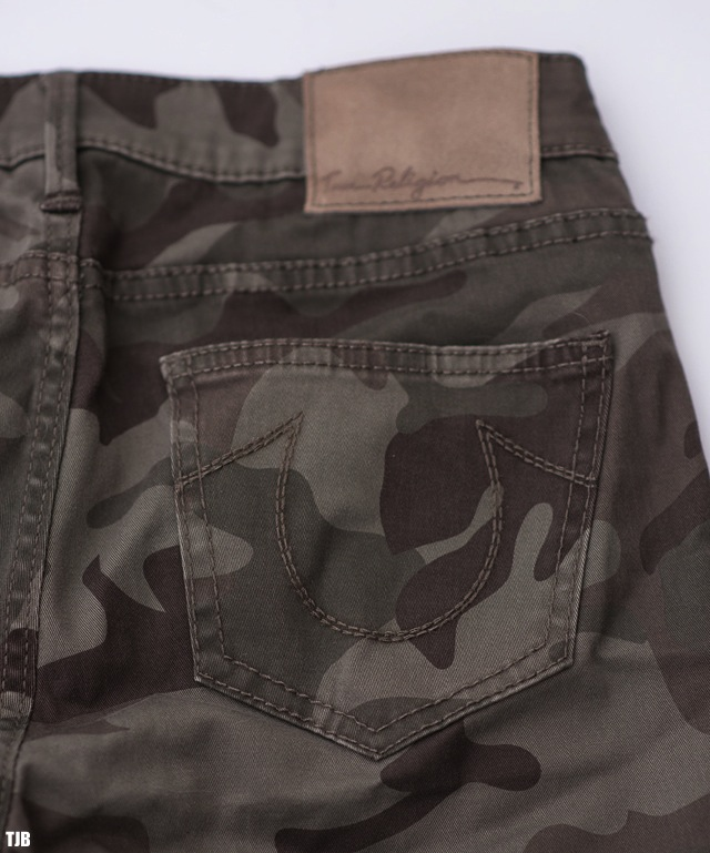 True Religion Casey Skinny Jeans in Camo Review 7