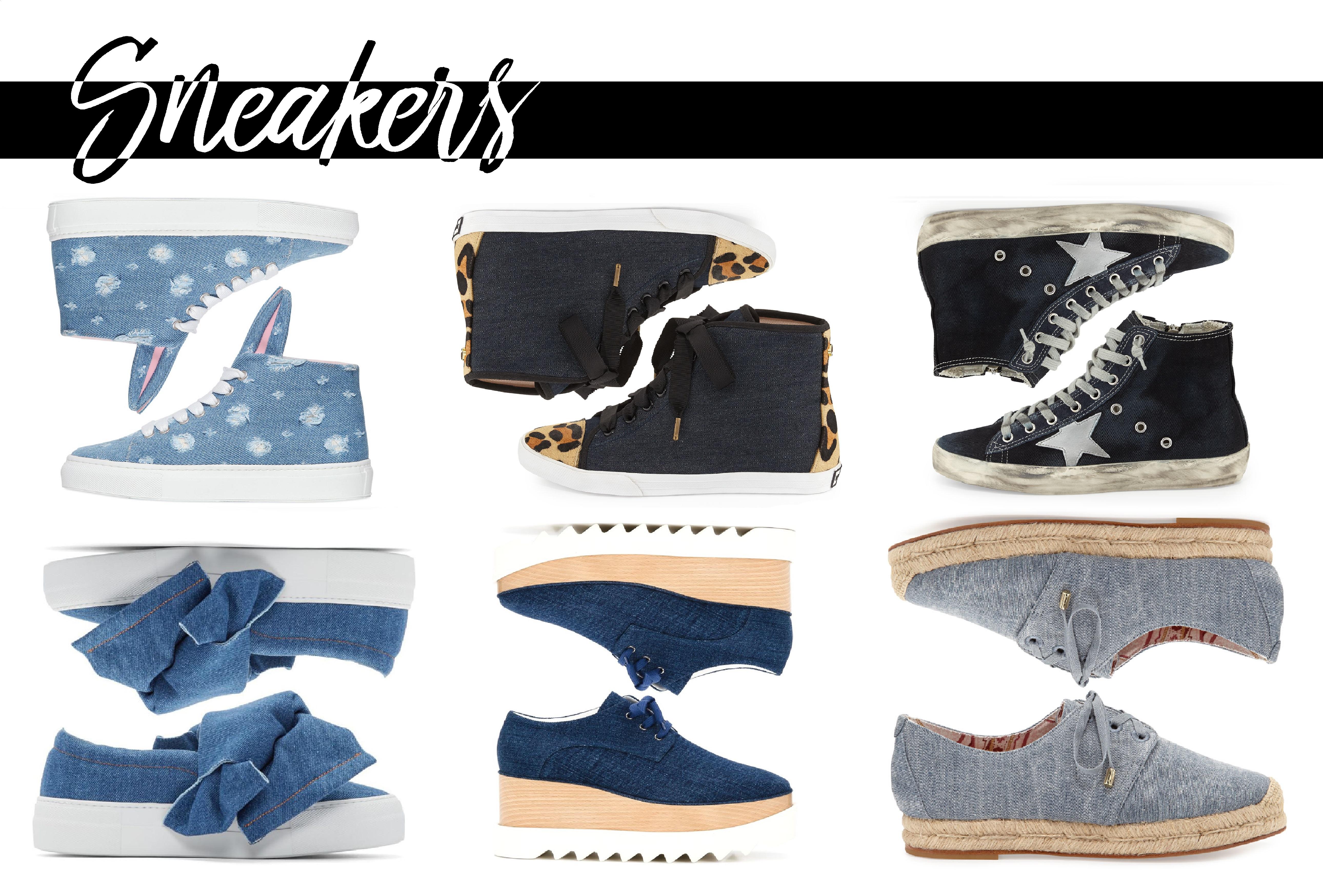 Denim Sneakers 1