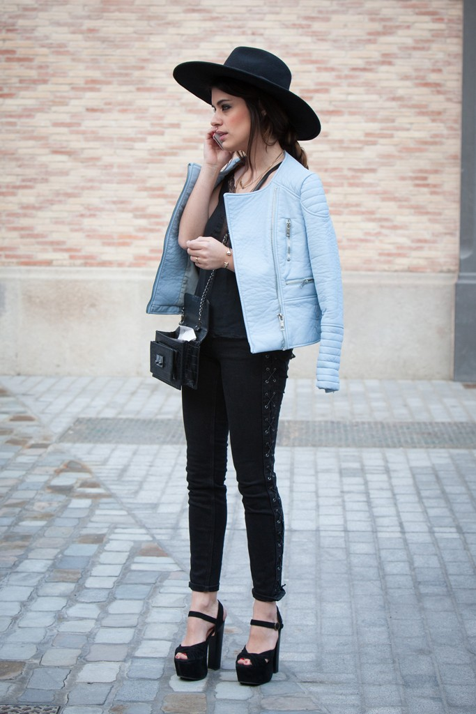 Denim Guide How To Wear Leather Jackets With Jeans The
