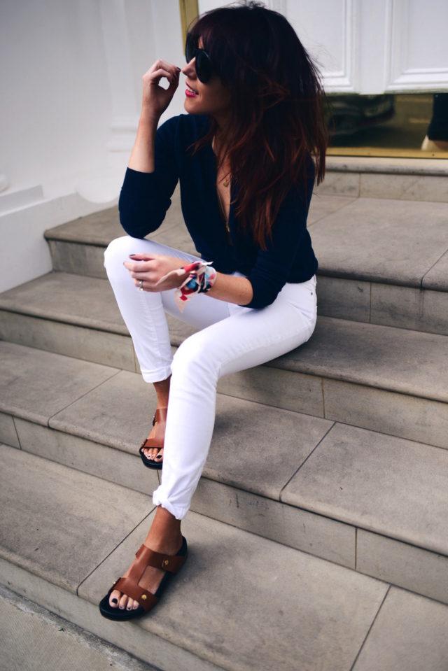lorna luxe white denim