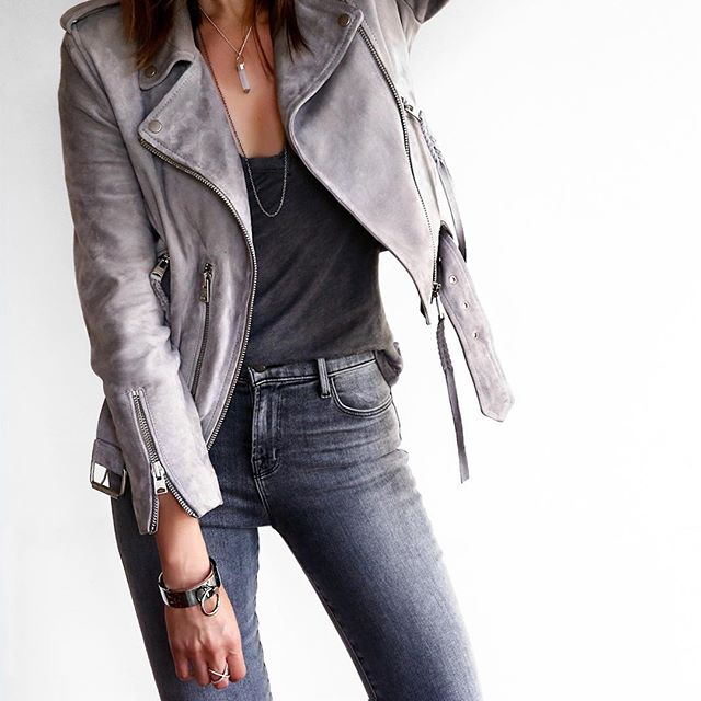 navy leather jacket