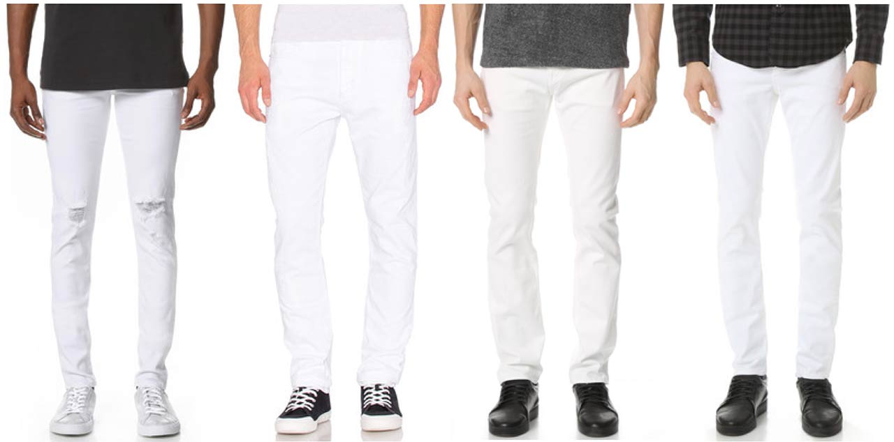 12 Cool White Men's Jeans For Summer & How To Style | The Jeans Blog