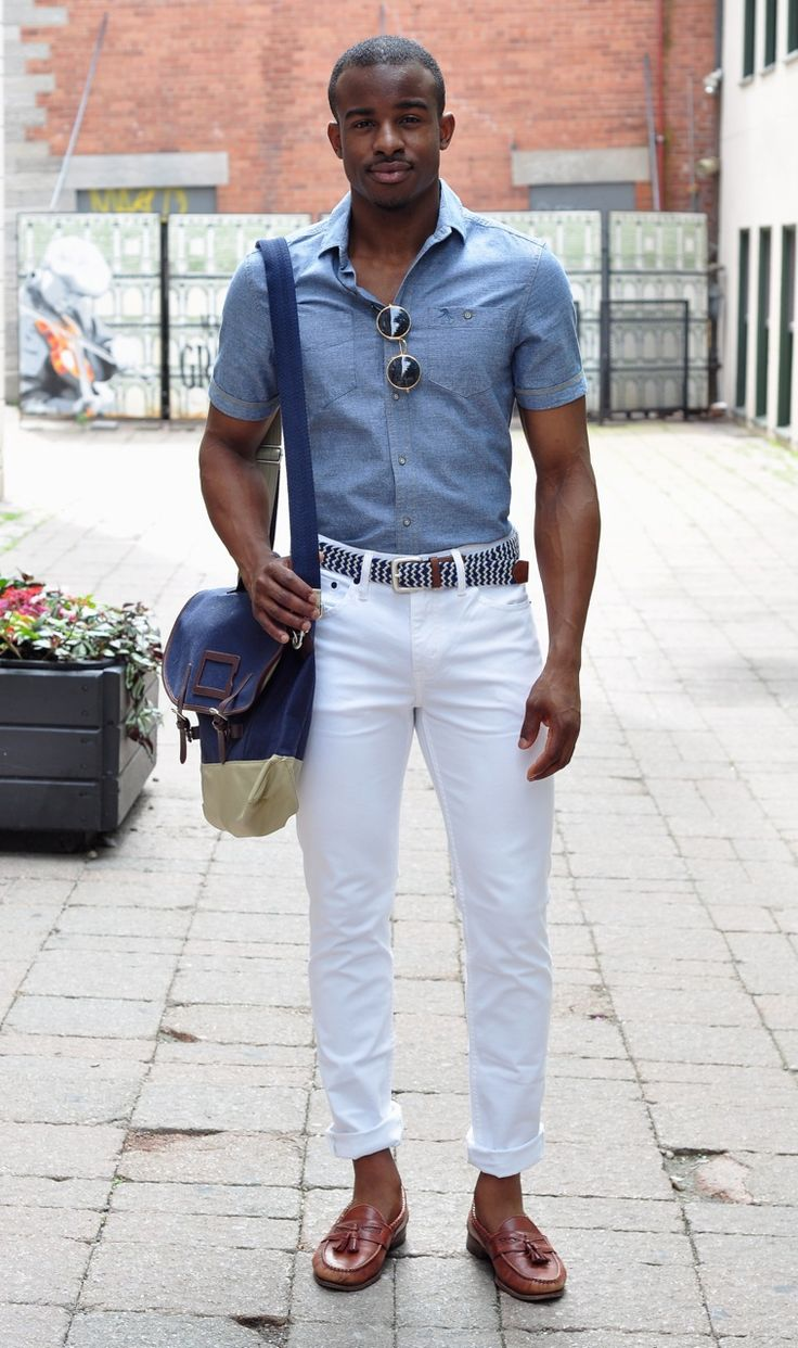 16 cool white men 39 s jeans for summer how to style the jeans blog. Black Bedroom Furniture Sets. Home Design Ideas