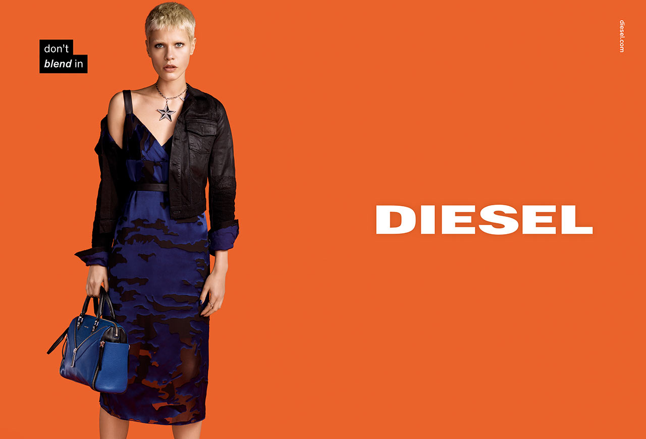 diesel fall winter ad campaign the jeans blog